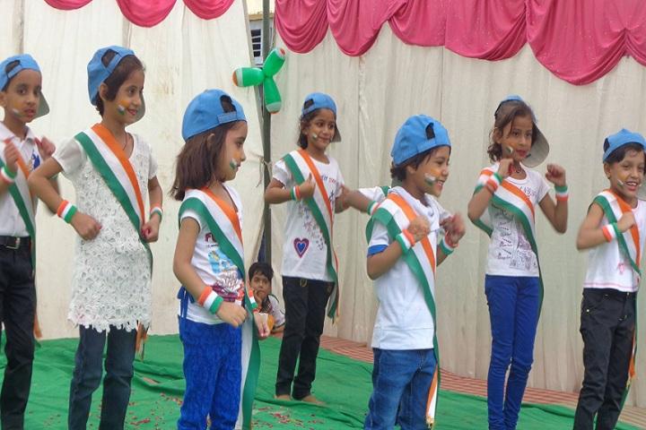 S S Kanhaiya Lal Aggarwal Memorial Bal Vidya Mandir-Independence day Event