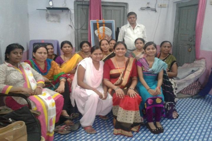 S S Kanhaiya Lal Aggarwal Memorial Bal Vidya Mandir-staff group photo