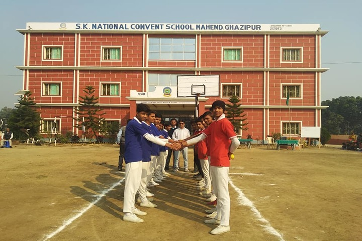 S K National Convent School-Sports Day