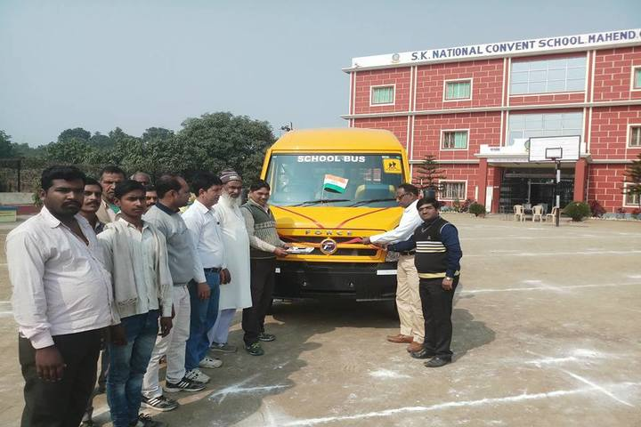 S K National Convent School-Transport