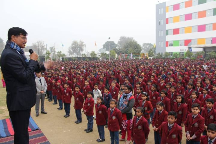 S R Global School- Assembly