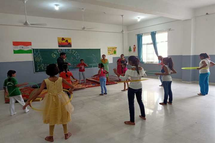S R Global School- Gymnastics