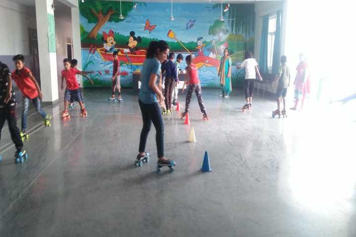 S R Global School- Skating