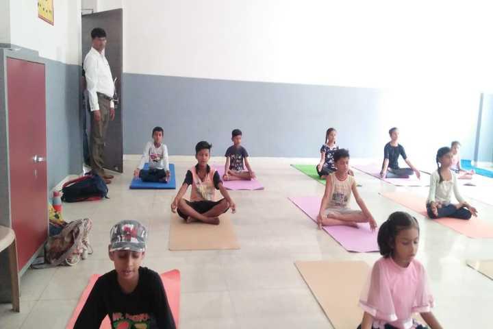 S R Global School- Yoga