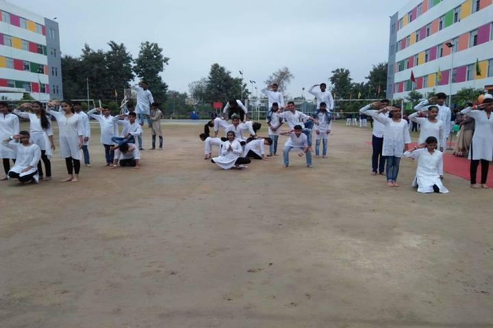 S R Global School- republic day