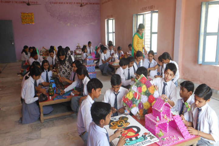 SDS Convent School- art and craft
