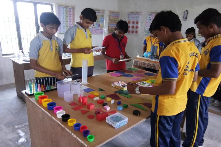 SKD Public School- Maths lab