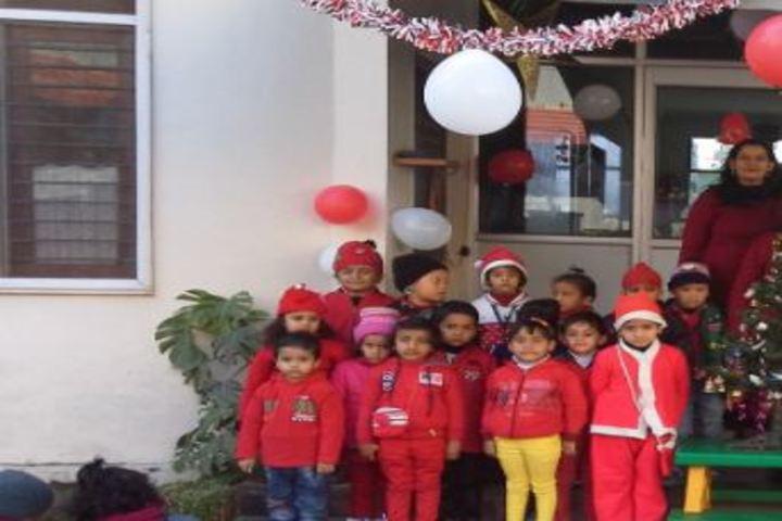 S M Public School- Christmas celebration