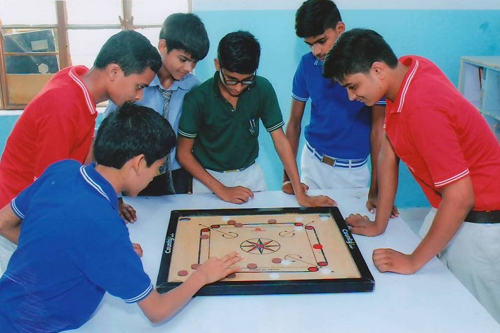 SNSS Academy-Carrom Playing