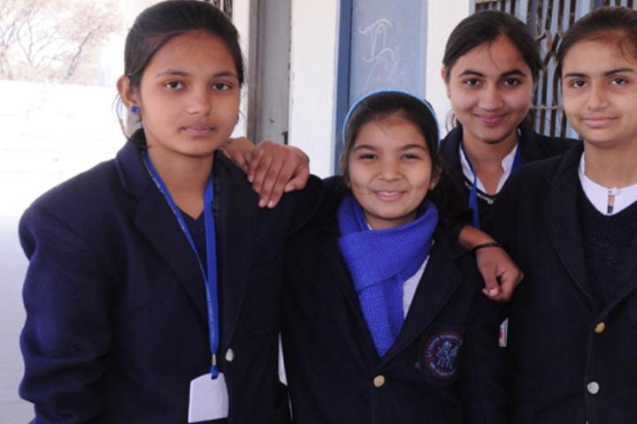 SP Convent Residential Public School-School students