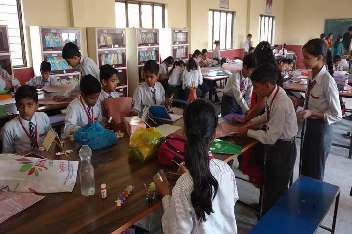 S R Public School-Library