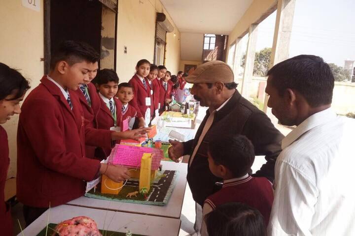 S R Public School-Science Exhibition