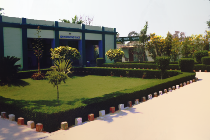 S R D Public Senior Secondary School- Administrative block