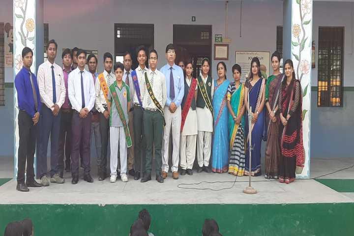 S R D Public Senior Secondary School- Investiture ceremony