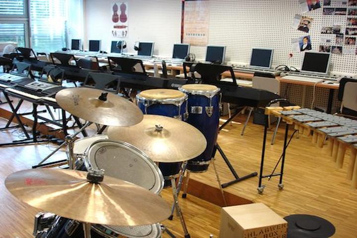 S R D Public Senior Secondary School- Music room