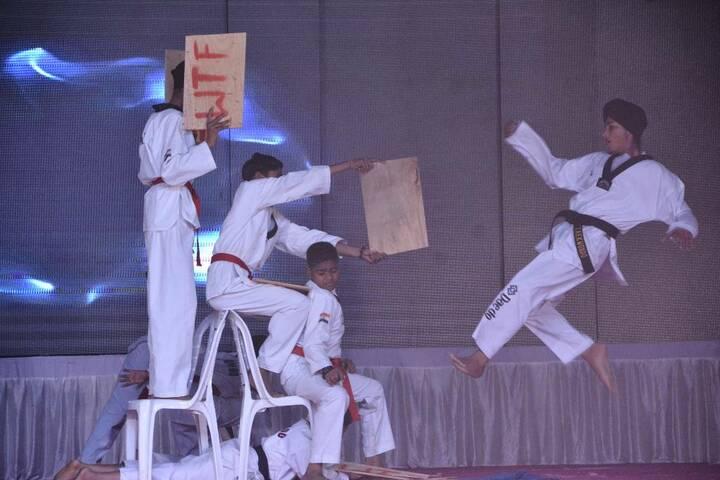 S R International School-Karate
