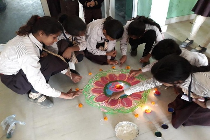 S S S Gurukul School- Diwali Celebration