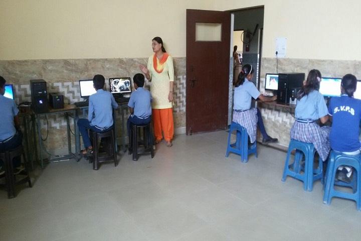 S V Public Junior High School-IT Lab