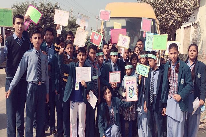 S V Public Junior High School-Rally
