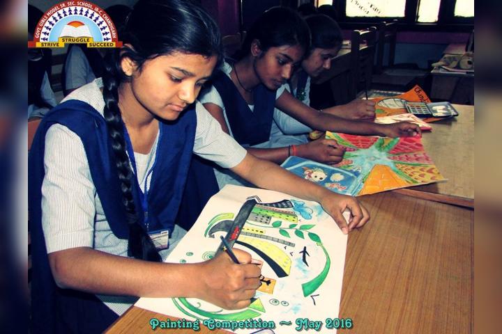 Government Girls Senior Secondary School-Drawing Activity