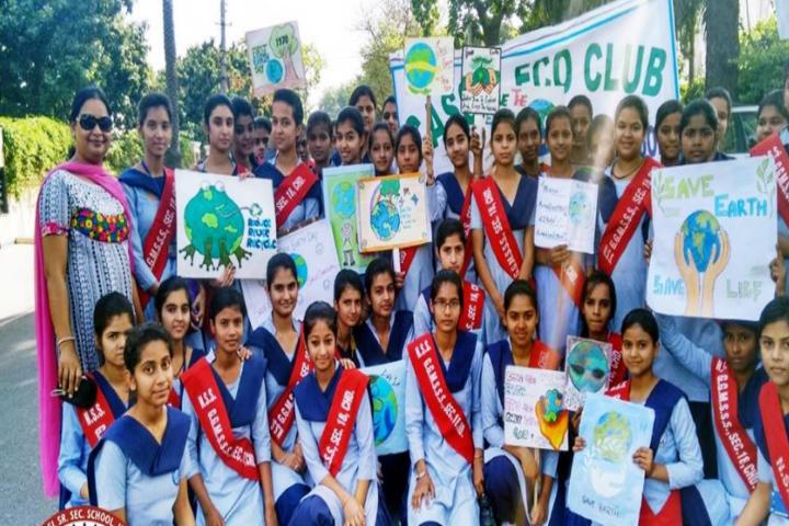 Government Girls Senior Secondary School-Earth Day