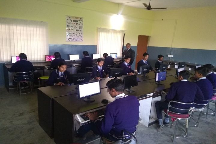 S V International School - Computer class