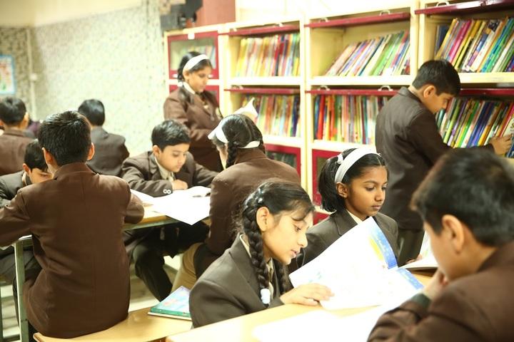 Sachdeva Millennium School- Library