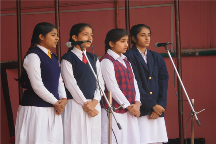 Sacred Heart Convent School- Singing