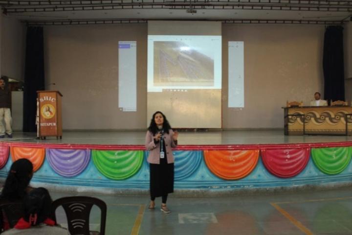 Sacred Heart Higher Secondary School- Digital class