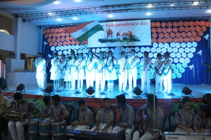 Sacred Heart Higher Secondary School- Independence day