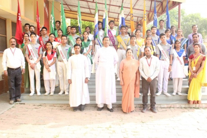 Sacred Heart Higher Secondary School- Investiture Ceremony