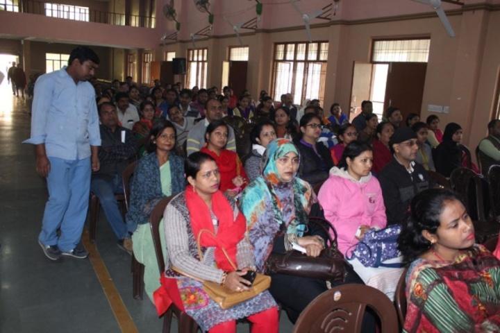 Sacred Heart Higher Secondary School- Parents Workshop