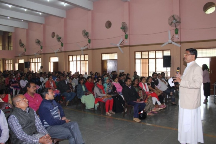 Sacred Heart Higher Secondary School- Seminar for parents