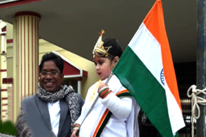 Sacred Heart School-Republic day