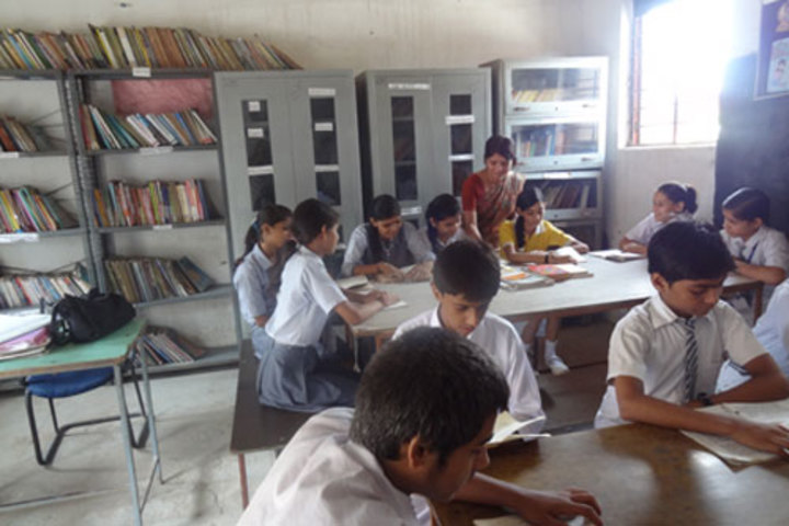 Sahil Public School-Library
