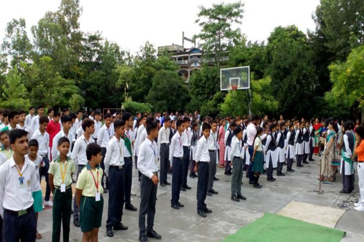 Sai Millennium School-Assembly