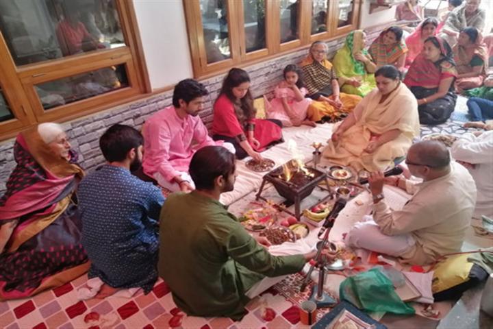 Sai Millennium School-Dussehra Celebration