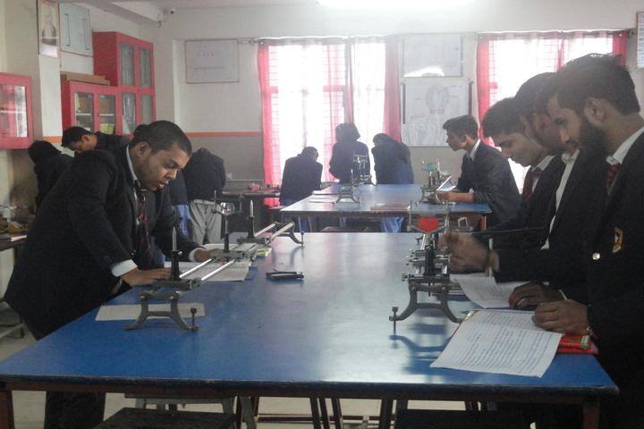 Saint Angels Public School-Biology lab
