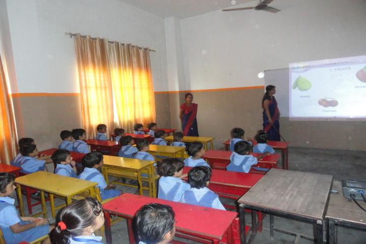 Saint Angels Public School-Smart Classroom