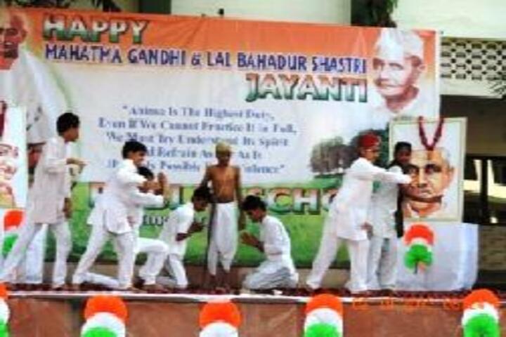 Saint Maruti School-Gandhi Jayanti