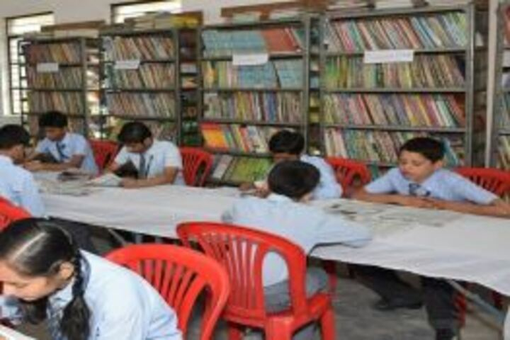 Saint Maruti School-Library