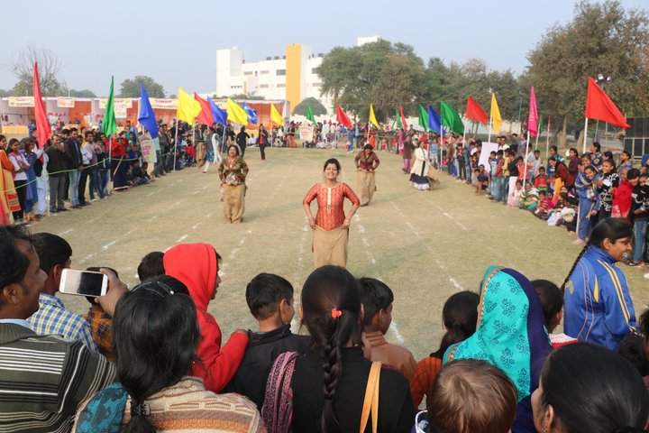 Samvid Gurukulum Senior Secondary School-Sports day