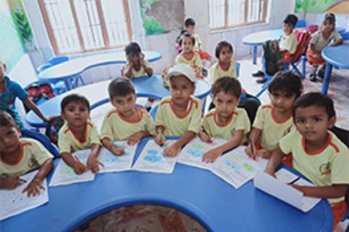 Sangam International School- Drawing Competition