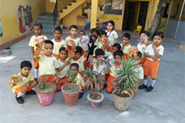 Sangam International School- Earth day