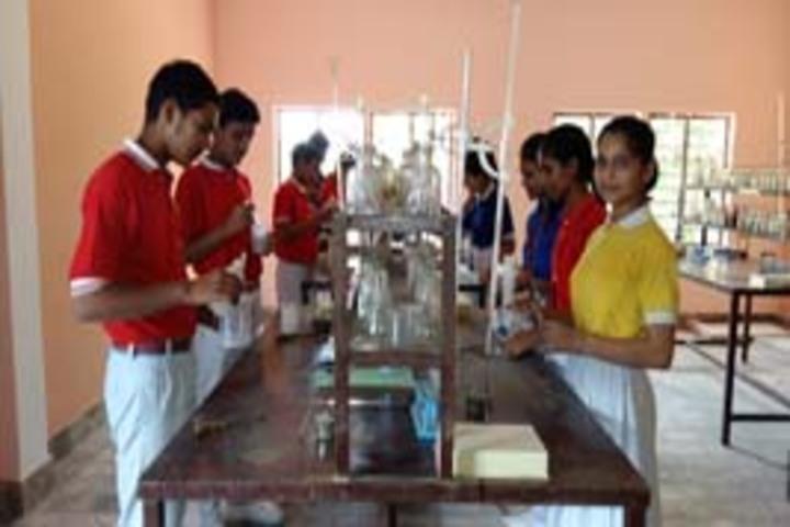 Sanskar Bharti Convent School-Chemistry lab