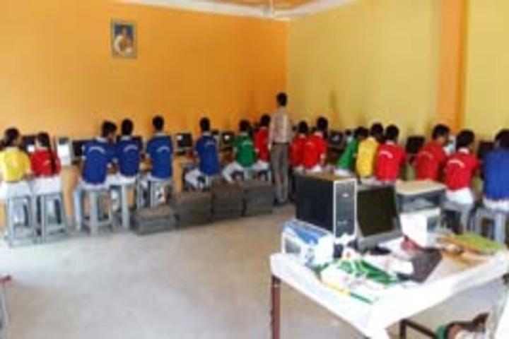 Sanskar Bharti Convent School-Computer lab