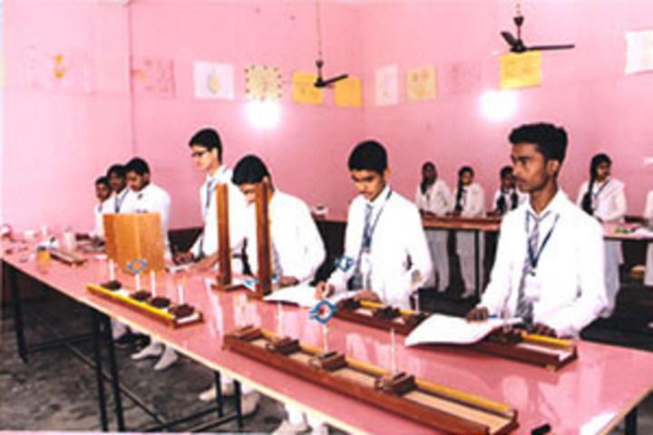 Sanskar Central Academy-Chemistry Lab