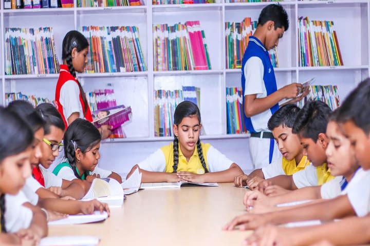 Sanskriti Sanskar Public School- Library
