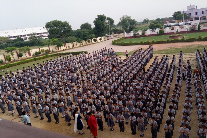 Sant Karshni Public School-Assembly