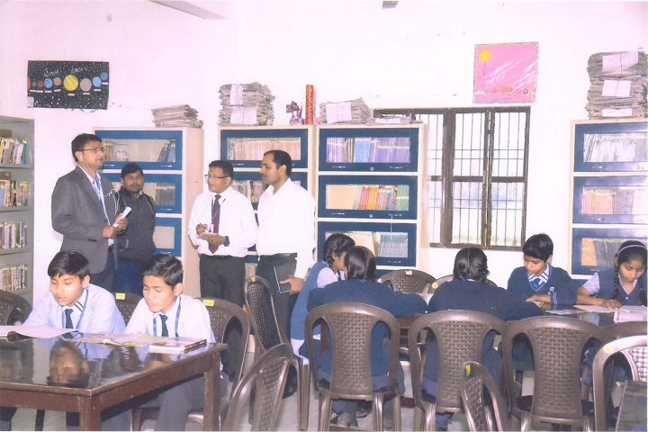 Sant Param Dayal Hr Secondary School-Library